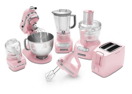 amazoncom kitchenaid ksm150pspk artisan series 5qt stand mixer with pouring shield pink kitchen u0026 dining