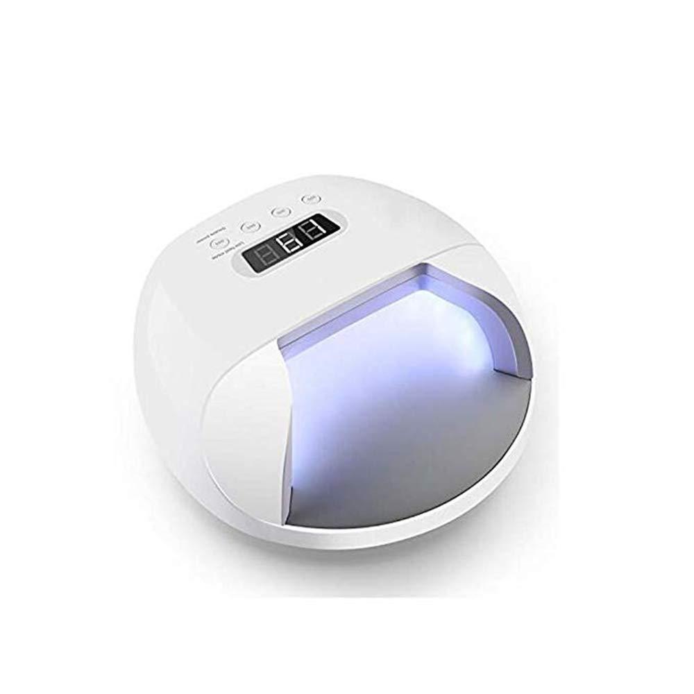 ネイル光線療法機 ネイルドライヤー - ネイルライト48W UVゲルポリッシングスマートライト4タイマー設定、LED液晶ディスプレイ、苛酷な硬化、過熱保護、電気保管 B07JL548WP