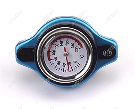 Universal Thermo Thermostat Kü hlerdeckel Deckel mit Wassertemperaturanzeige (0.9 bar) Orel_carparts