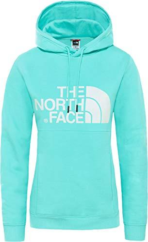 con Felpa The North cappuccio W Turquoise Drew Face dwnfxqwF