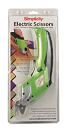 Yaley Battery Operated Electric Scissors, Lime Green