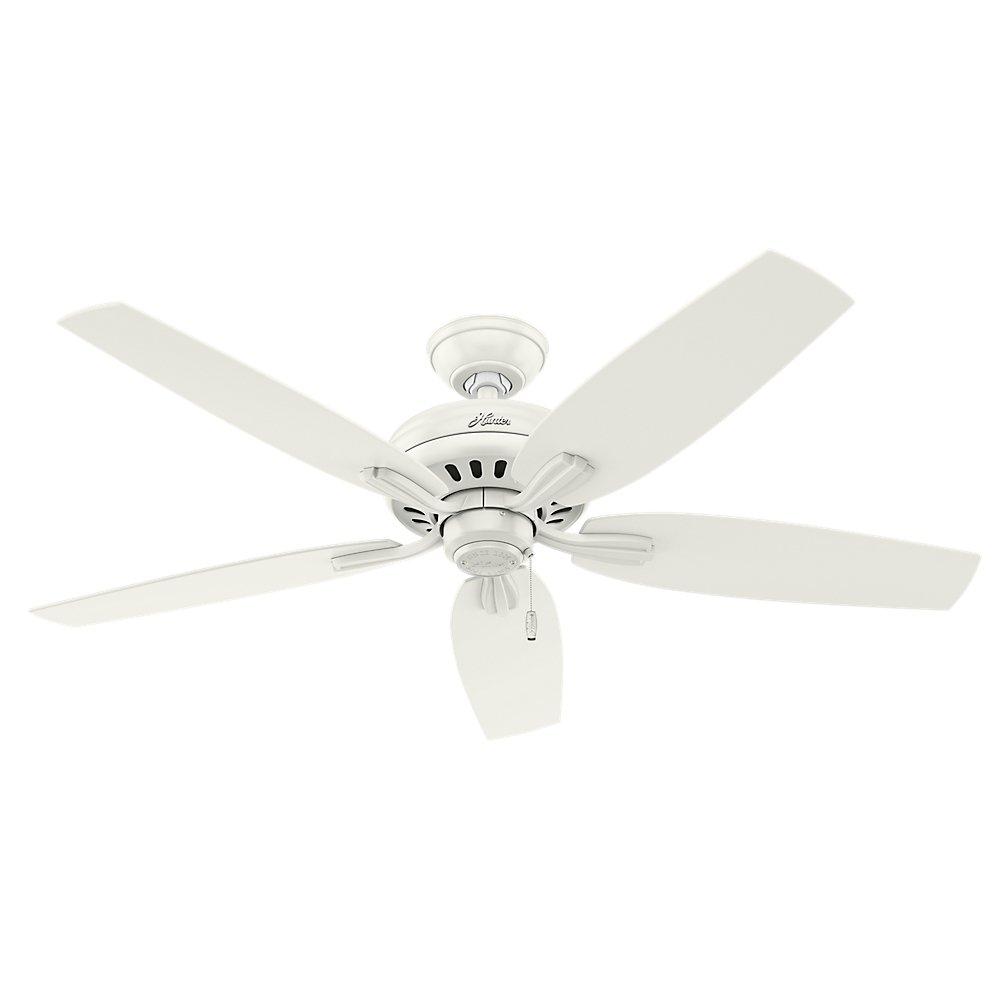 Hunter 53319, 52'' Ceiling Fan Fresh White 52'' Ceiling Fan