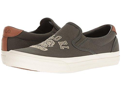 [Polo Ralph Lauren(ポロラルフローレン)] メンズカジュアルシューズ?スニーカー?靴 Thompson P Deep Olive 9.5 (28cm) D - Medium