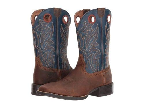 Ariat Men's Sport Sidebet Square Toe Cowboy Boots (10EE) (Ariat Arch)