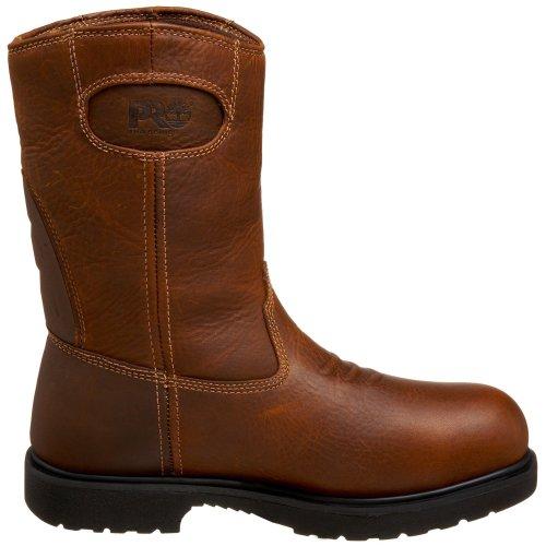 Timberland Pro Mens 47017 Titan Hd Wellington Vattentät Säkerhets Tå Boot Brown