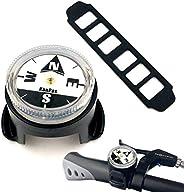KanPas BK-37NEW Travel Version Luminous Compass for Bicycle Motorcycle ATV