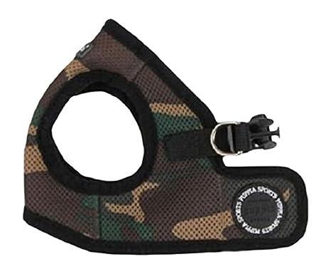 Puppia Veste harnais souple pour chien Motif camouflage Taille XXL PUAH305CAXXL