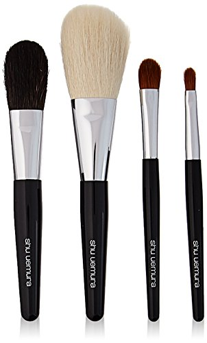 Shu Uemura 4 Piece Portable Makeup Brush Set