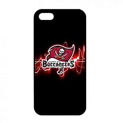 Classic Plastic NFL Logo Case Retail Packing iPhone 5(S) Cases Tampa Bay Bucc...