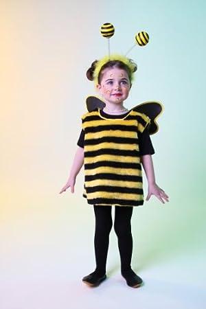 Karneval Kinder Kostum Bienchen Kleid Biene Bienenkostum Grosse 92