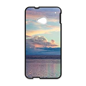 silent sea clouds sky personalized creative custom protective phone case for HTC M7
