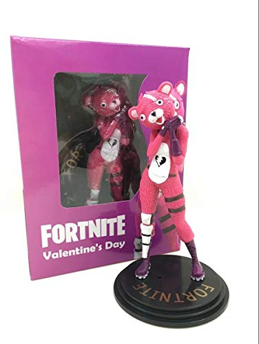 15cm Action Figure Video Game Fortnight Troll Stash Pink Bear Doll Gift from HuWang2