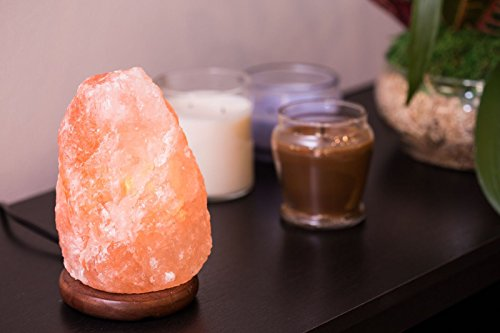 Ambient Salt Lamp Authentic Himalayan Lamp 7-9'' 7-9 lbs Hand Crafted Natural Crystal Salt Rock with UL Listed and Certified Dimmer Switch by Ambient Salt Lamp (Image #4)