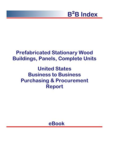 (Prefabricated Stationary Wood Buildings, Panels, Complete Units B2B United States: B2B Purchasing + Procurement Values in the United States)