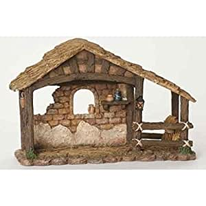 Fontanini 5 Detailed Religious Christmas Nativity Stable 50479 Home Kitchen