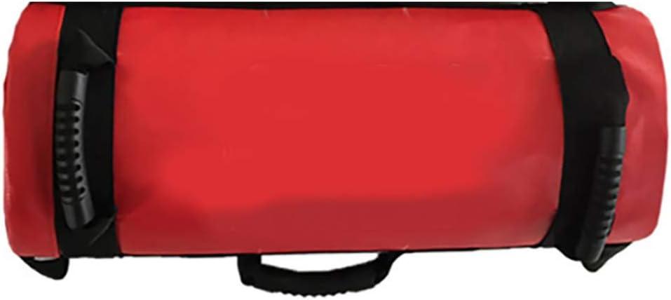 OUYA Ajustable 5-30kg de Peso Sandbag Entrenamiento Bolsa de alimentación con Asas para el Levantamiento de Pesas, Correr, Ejercicio, Levantamiento de Potencia y Entrenamiento Funcional - Hueco