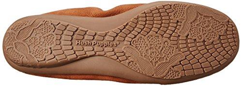 Hush Puppies Womens Lydia Ceil Slip-on Loafer Cognac Nubuck