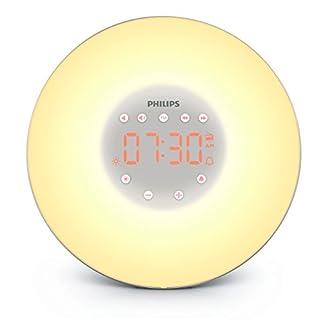 Philips HF3506/65 Wake-Up Light with Radio, Silver (B00UFNMYN8) | Amazon price tracker / tracking, Amazon price history charts, Amazon price watches, Amazon price drop alerts