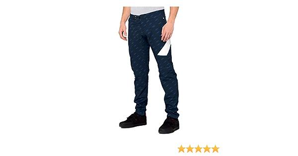 Light Blue//Black - 32 43002-215 100/% Percent Mens R-Core-X DH Mountain Bike Pants