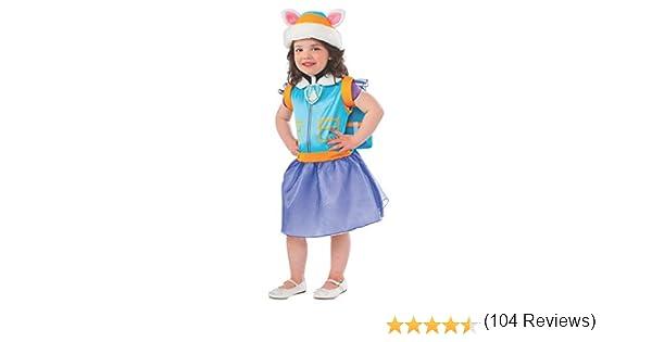 Patrulla Canina - Disfraz de Everest para niños, infantil talla 1 ...