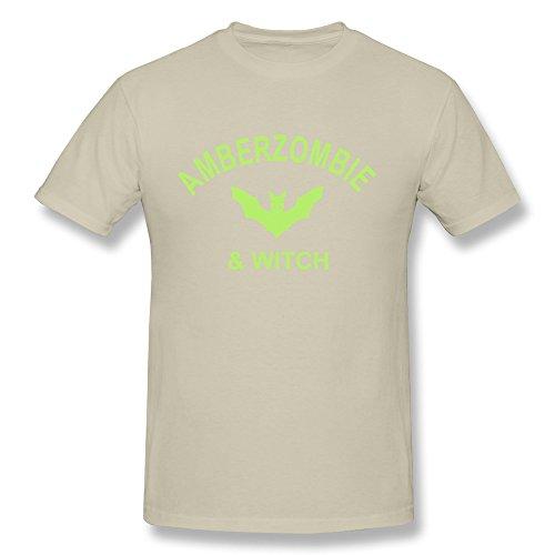 JSFAD Men's Amberzombie Witch T-shirt 3X -