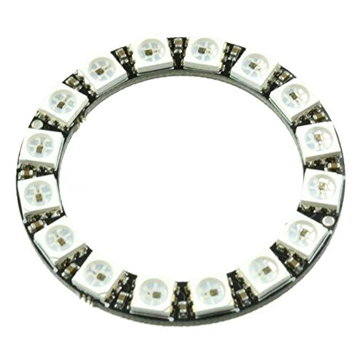 Instrument Parts & Accessories 16 Bit Ws2812 5050 Rgb Led Ring Full-color With Integrated Driver Module Round Development Board