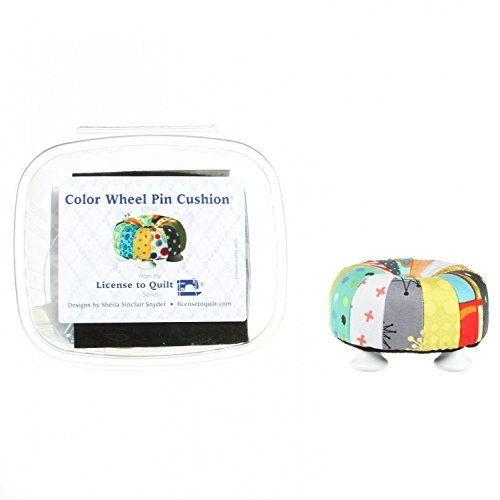 Color Wheel Pin Cushion kit by License to Quilt