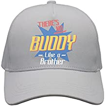 Cap There's No Buddy Like A Brother Unisex Cap Cute Stylish Casual Simple Funny Personality Fashion Travel Essential