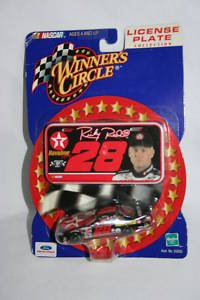 Winners Circle License Plate Collection #28 1:64 Die Cast