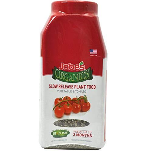 Jobe's Organics 09086 Tomato Slow Release Plant Food, 1 lb