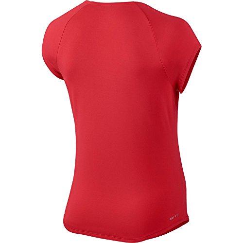 T Nike shirt Pure Rouge Femme T noir SHx6BH