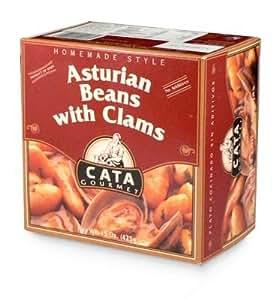 Cata Fabes con Almejas - Asturian Beans with Clams (15 oz)