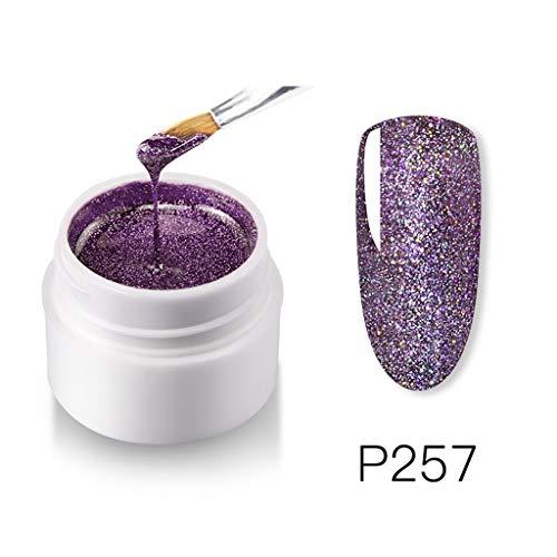 Price comparison product image Mifelio Gel Nail Polish for Nails,  Soak Off UV Pink Gel Kit Required Gel Base Top Coat LED Nail LampLong Lasting Shine FinishG