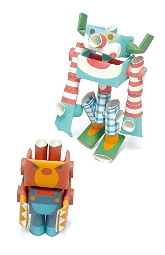 ry Paper Craft Robot kit from Japan - Circus Duo ()