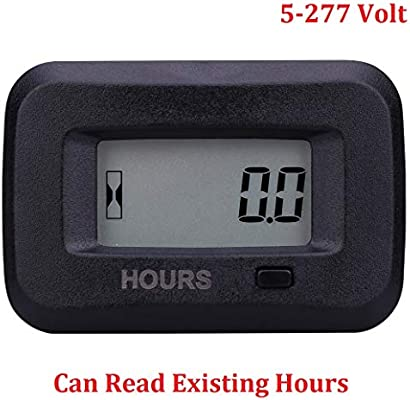 Searon Digital Hour meter of 12V 24V 36V 48V 110V 220V 230V AC/DC for on