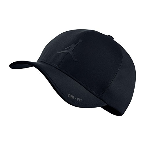 Nike Mens Air Jordan Classic 99 Fitted dad Hat Black/Black (Jordan Mens Hat)