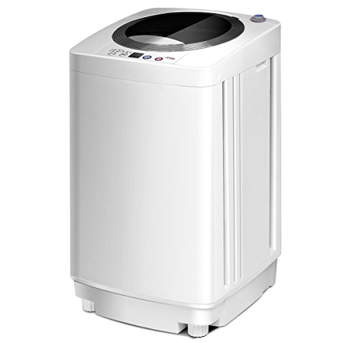 CASART Full-Automatic Washing Machine with Drain Pump, Long Hose, 6 Washing...