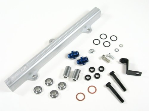 OBX Silver Fuel Injection Rail for 95-99 Toyota MR2 Turbo 3S-GTE w/ 3rd Gen. Cylinder Head (JDM/EDM ONLY)