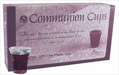 Communion - Cup - Disposable (Clear) - 1 - 3/8'' (Pk/200)