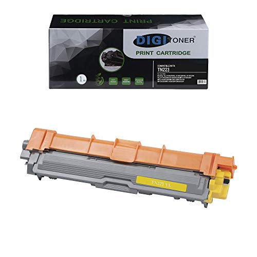 DIGITONER Compatible Toner Cartridge Replacement for Brother TN223 TN227 TN-223 TN-227 Toner Cartridge [NO CHIP] Work with Brother MFC L3770CDW Brother HL-L3210CW HL-3230CDW HL-L3270CDW Yellow[1 Pack] -  PD-TN223YL-1PK