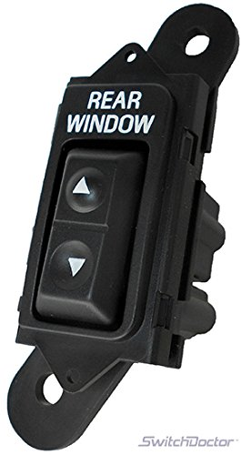 SWITCHDOCTOR Rear Window Master Switch for 1992-1996 Ford ()
