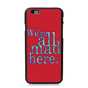 QHY We're Mad Design PC Hard Case for iPhone I5