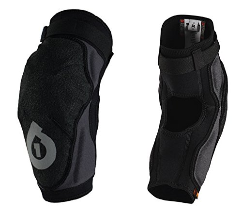 SixSixOne Unisex-Adult Evo Elbow Guard II (Black, (Sixsixone Body Armor)