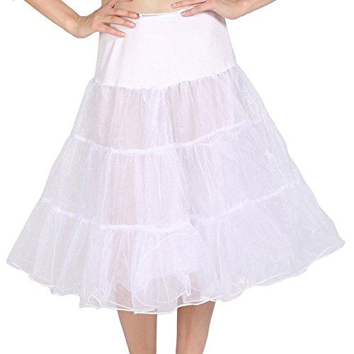 DaisyFormals 50s Vintage Rockabilly Petticoat Skirt 13 Colors,26