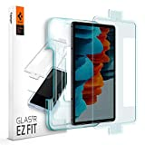 Spigen Tempered Glass Screen Protector [Glas.tR EZ Fit] Designed for Galaxy Tab S7 (11 inch) [9H Hardness/Case-Friendly] (Color: Glas.tR EZ FIT)