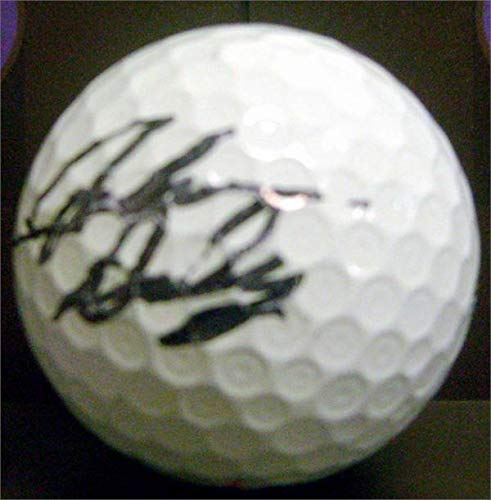 - John Daly autographed golf ball (PGA Championship 1991 Open 1995 SC) with free display