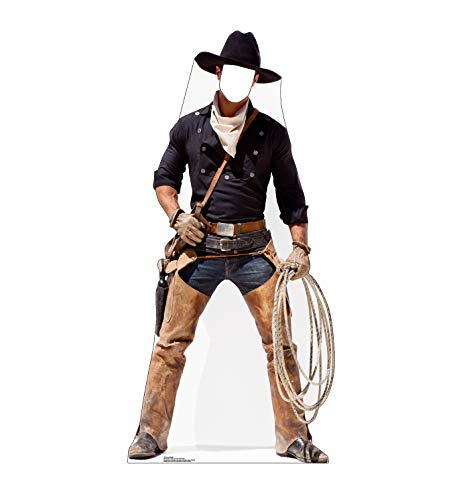 Advanced Graphics Cowboy Stand-in Life Size Cardboard Cutout Standup -
