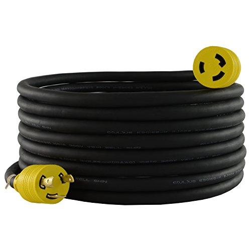 Conntek RUL630PR-100 Extension Cord, 100-Feet, Black ()