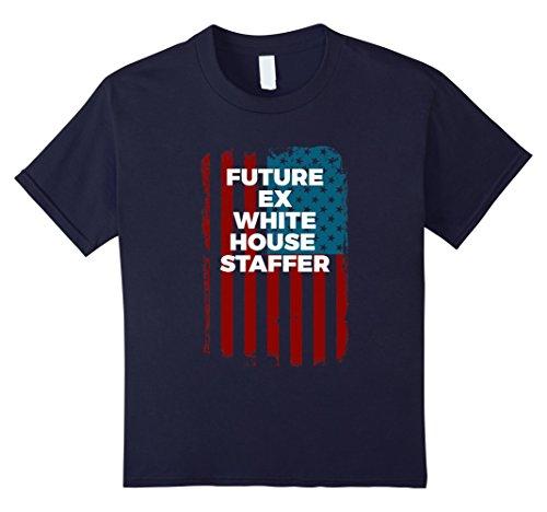 Kids Trump Admin Future Ex White House Staffer T Shirt 12 Navy