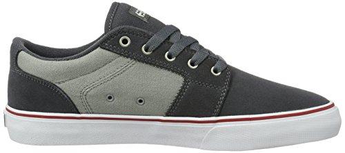 Etnies Barge Ls, Zapatillas de Skateboarding para Hombre Gris (Dust/black-lava Glow-pale Grey)